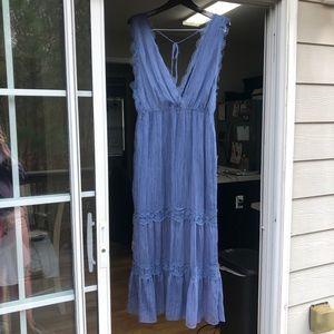 Chelsea and Violet blue dress